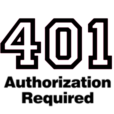 errore 401